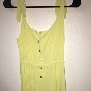 URBAN OUTFITTERS Yellow romper